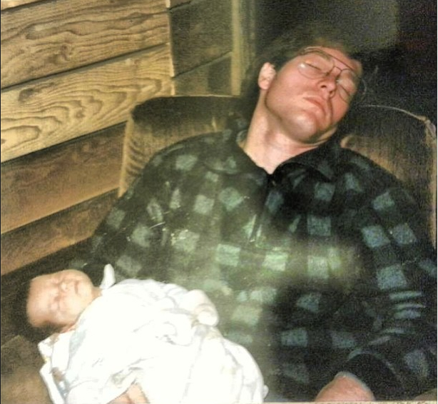 I learned from the best. Me and Dad napping like champions.